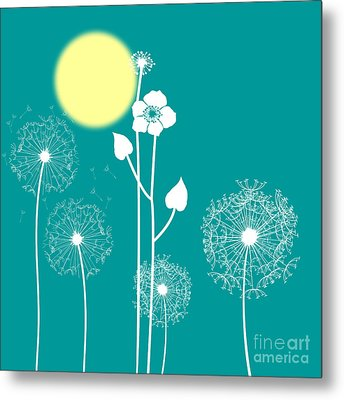 Wild Flowers Metal Print by Celestial Images