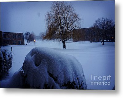 Winter Landscape  Metal Print by Celestial Images