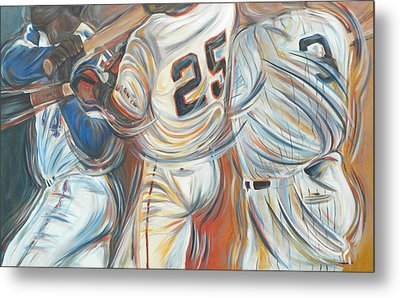 700 Homerun Club Metal Print by Redlime Art
