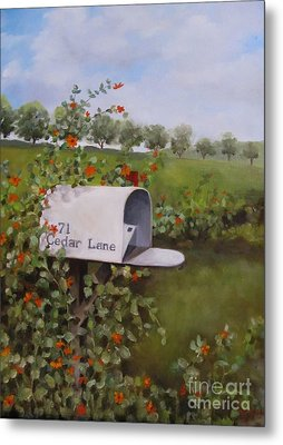 71 Cedar Lane Metal Print by Karen Olson