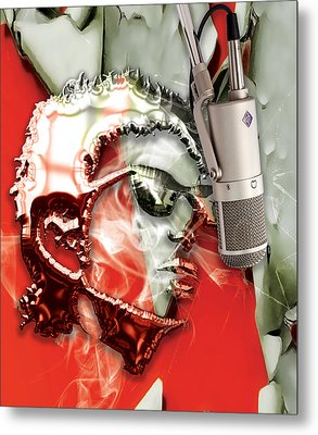 Bob Dylan Collection Metal Print