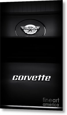 78 Corvette Metal Print by Tim Gainey