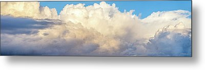 Metal Print featuring the photograph Clouds by Les Cunliffe