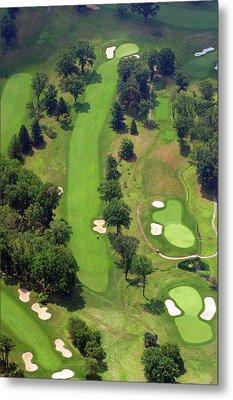 7th Hole Sunnybrook Golf Club 398 Stenton Avenue Plymouth Meeting Pa 19462 1243 Metal Print by Duncan Pearson