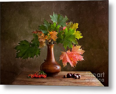 Autumn Metal Print by Nailia Schwarz