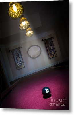 Metal Print featuring the photograph 8 Ball by Brian Jones