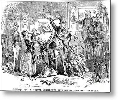 Dickens: David Copperfield Metal Print by Granger