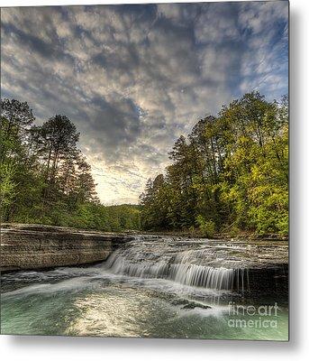Haw Creek Falls Metal Print by Twenty Two North Photography
