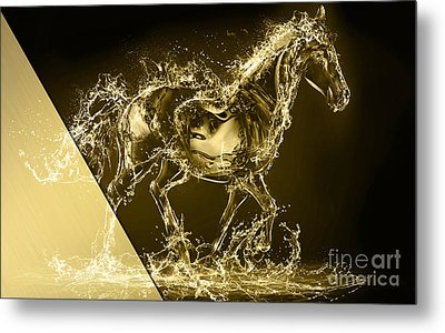 Horse Collection Metal Print by Marvin Blaine