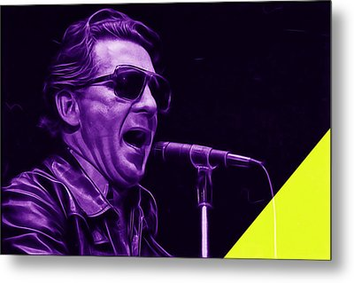 Jerry Lee Lewis Collection Metal Print by Marvin Blaine
