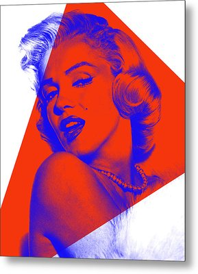 Marilyn Monroe Collection Metal Print