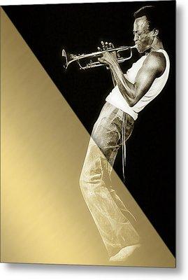 Miles Davis Collection Metal Print