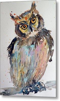 Owl Metal Print by Kovacs Anna Brigitta