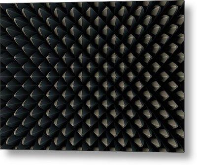 Sound Proof Foam Metal Print by Allan Swart