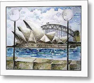 Sydney Opera House Metal Print by Yelena Revis