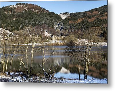 Trossachs Scenery In Scotland Metal Print by Jeremy Lavender Photography