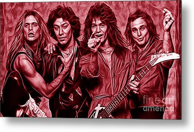 Van Halen Collection Metal Print by Marvin Blaine