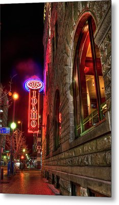 805 Idaho Building Metal Print