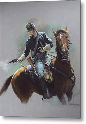 8th Us Cavalry C 1870 Metal Print