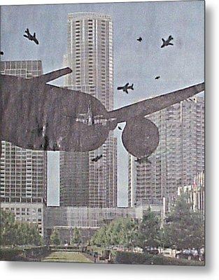 9-11-7 Metal Print