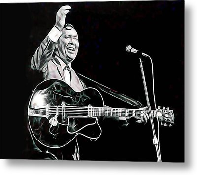 Bill Haley Collection Metal Print by Marvin Blaine