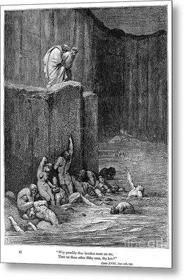 Dante: Inferno Metal Print by Granger