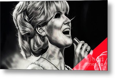 Dusty Springfield Collection Metal Print by Marvin Blaine