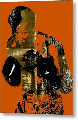 George Foreman Collection Metal Print by Marvin Blaine