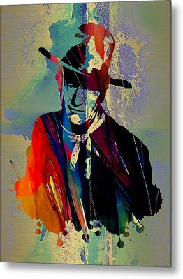 John Wayne Collection Metal Print