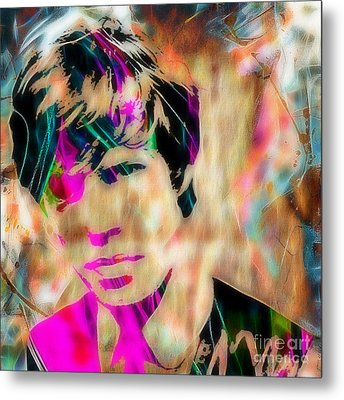 Mick Jagger Of The Rolling Stones1964 Painting Metal Print