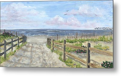 92nd Street Metal Print by Margie Perry
