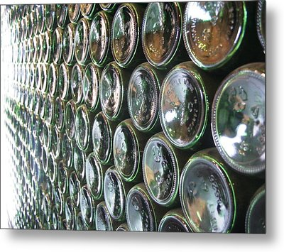 99 Bottles Of Beer On The Wall... Metal Print by Martha Ayotte