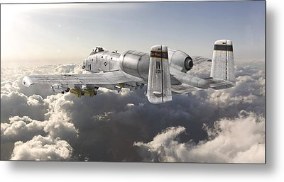 A-10 Thunderbolt II Metal Print by David Collins
