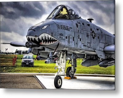 A-10 Thunderbolt  Metal Print by Michael White