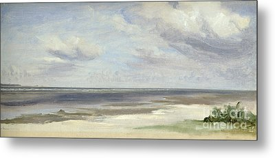 A Beach On The Baltic Sea At Laboe Metal Print by Jacob Gensler