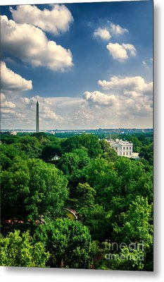 A Beautiful Day In Dc Metal Print