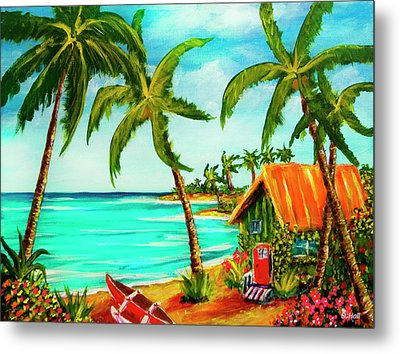 A Beautiful Day  Oahu #357 Metal Print by Donald k Hall