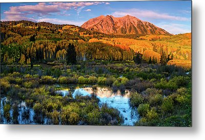 Metal Print featuring the photograph A Beckwith Morning by John De Bord