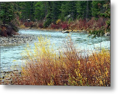 A Bend In The River Metal Print by Lynn Bawden
