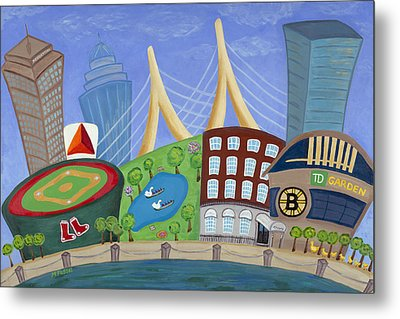 A Bit O' Boston Metal Print