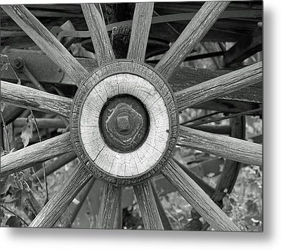 A Bit Of History Metal Print by Ron Kizer