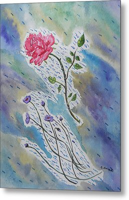 A Bit Of Whimsy Metal Print by Carol Crisafi
