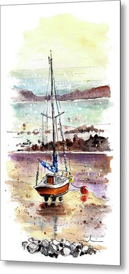 A Boat On Anglesey 01 Metal Print
