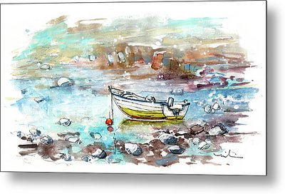 A Boat On Anglesey 02 Metal Print
