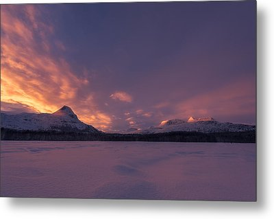 A Breath Of Change Metal Print by Tor-Ivar Naess