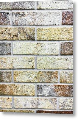 A Brick Wall Metal Print