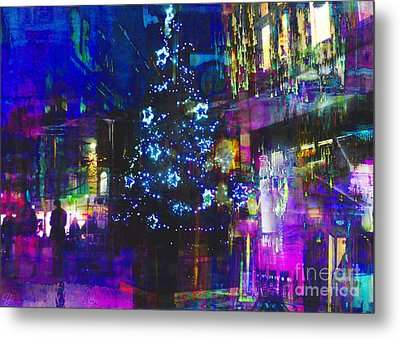 Metal Print featuring the photograph A Bright And Colourful Christmas by LemonArt Photography