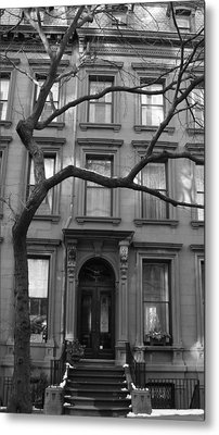 A Brownstone In Brooklyn Metal Print