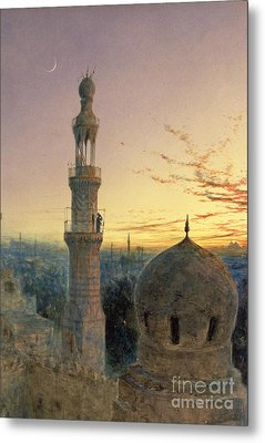 A Call To Prayer Metal Print by Henry Stanier