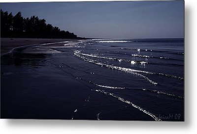 Metal Print featuring the photograph A Calm Evening by Maciek Froncisz